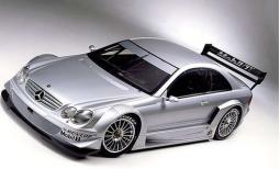 Mercedes Benz Clk Dtm Touring Road Car in silver.jpg