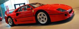 Ferrari F40 in bright red car.jpg