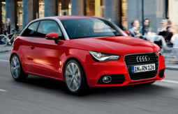 Bright red Audi A1 car 2001.PNG
