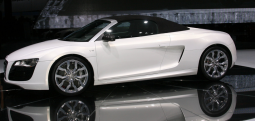 White 2010 Audi R8 Spyder 5.2 FSI car picture.PNG