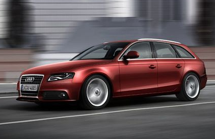 Audi Pictures of model 2009 Audi A4 Avant car in redish brown color.PNG