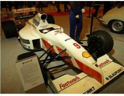White Porsche Footwork GP Racing Car picture.jpg