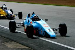 cool looking racing car in baby blue.jpg