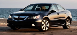 Black 2009 Acura RL car picture.PNG