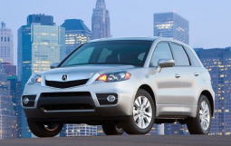 Photo of 2010 Acura RDX car in silver with four doors.PNG