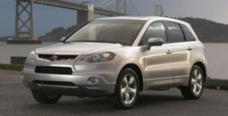 Silver 2007 Acura RDX SUV.PNG