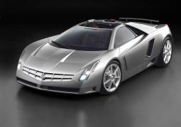 Siliver Cadillac Sports Car photo.JPG
