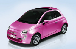 Pink car picture of Fiat 2012.PNG
