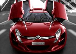 Red Citroen Sports Car picture.jpg
