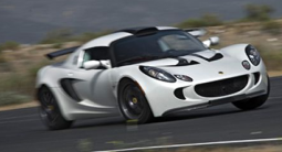 2009 Lotus Exige S 260 in white.PNG