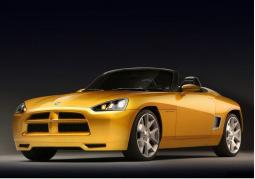 image of Dodge Sports Car in yellow.jpg