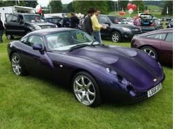 Dark purple TVR sport car picture.jpg