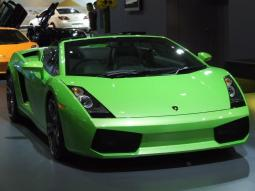 Bright green Lamborghini car at 2007 Sydney Car Show.jpg