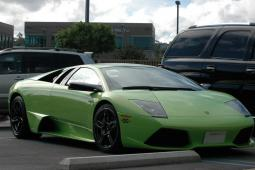Green Car Lamborghini Gallardo car image.jpg