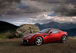 picture of Alfa Romeo Sports Car in red.jpg
