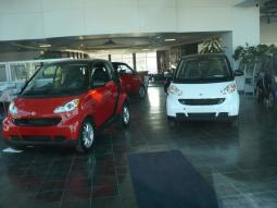 Red and White Smart Car Fortwo Coupes.jpg
