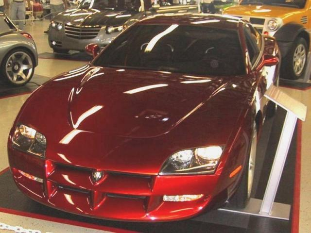 1999 Dodge Charger >> 1999 Dodge Charger Rt Concept Car In Red Jpg