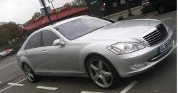 Image of silver car Mercedes S500 AMG 1.jpg
