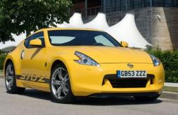 Picture of 2009 Nissan 370Z Yellow_very cool sport car.JPG