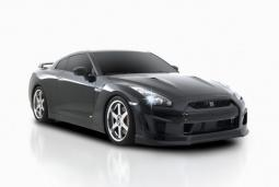 Picture of cool 2009 Ventross Nissan GT-R car in black.JPG