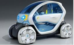 Zero-emission vehicle powered by lithium-ion batteries.JPG
