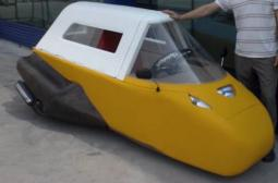 Foamy Croc Car Gets 100 MPG And Floats.JPG