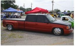 Red Chevy Truck With Escalde Front At Slammin and Jammin Car Show.jpg