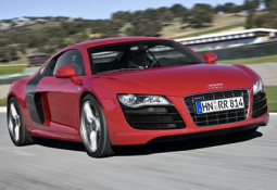 2010 Audi R8 V10 sport car in red and black_Audi second hand.PNG