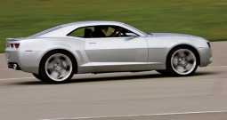2009 Chevrolet Camaro in silver.PNG