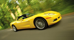 Bright yellow 2008 Chevrolet Corvette image.PNG