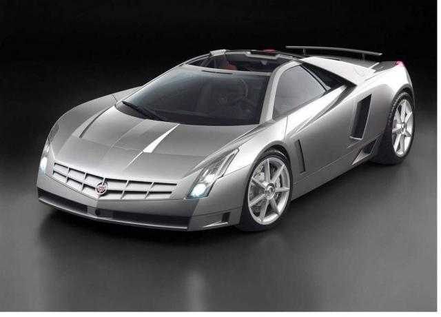 Cadillac Sports Car in dark Silver.jpg
