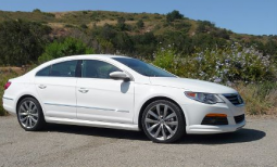 Volkswagen CC Sport car in white from 2009.PNG