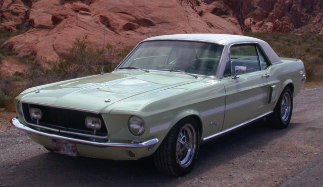 1968 Mustang California Special sport cars pictures.PNG