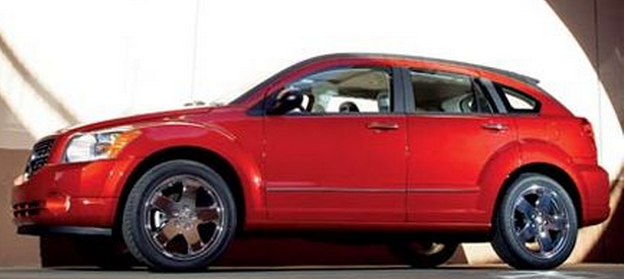 Bright red 2006 Dodge Caliber car images.PNG