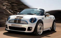 White mini cooper car.PNG