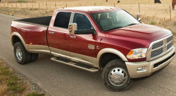 Red and gold 2011 Ram Laramie Longhorn Hd 3500_heavy duty trucks pictures.PNG