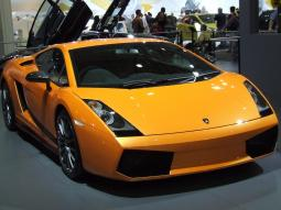 Orange 2007 Lamborghini Spyder car photo.jpg