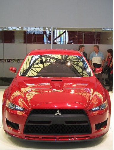 picture of Mitsubishi Concept Car in red.jpg